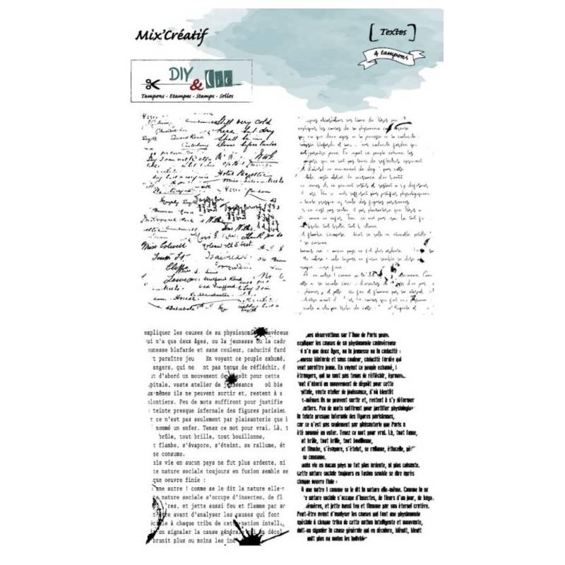 Tampons - DIY&Cie - Textes