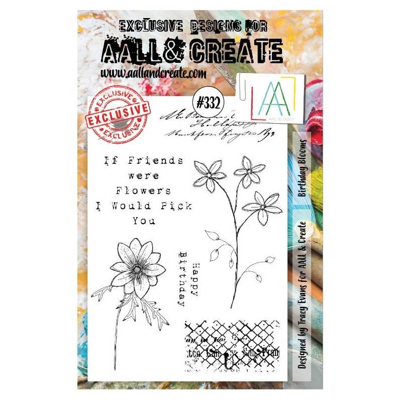 AALL & Create Stamp - 332 - Amitié