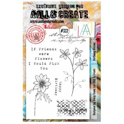 AALL & Create Stamp - 332 - Amitié