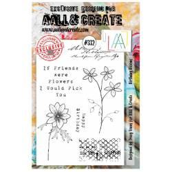 AALL & Create Stamp - A5 - Amitié