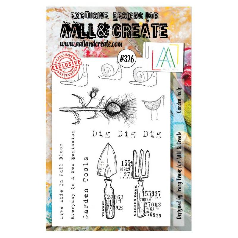 AALL & Create Stamp - 326 - Escargots