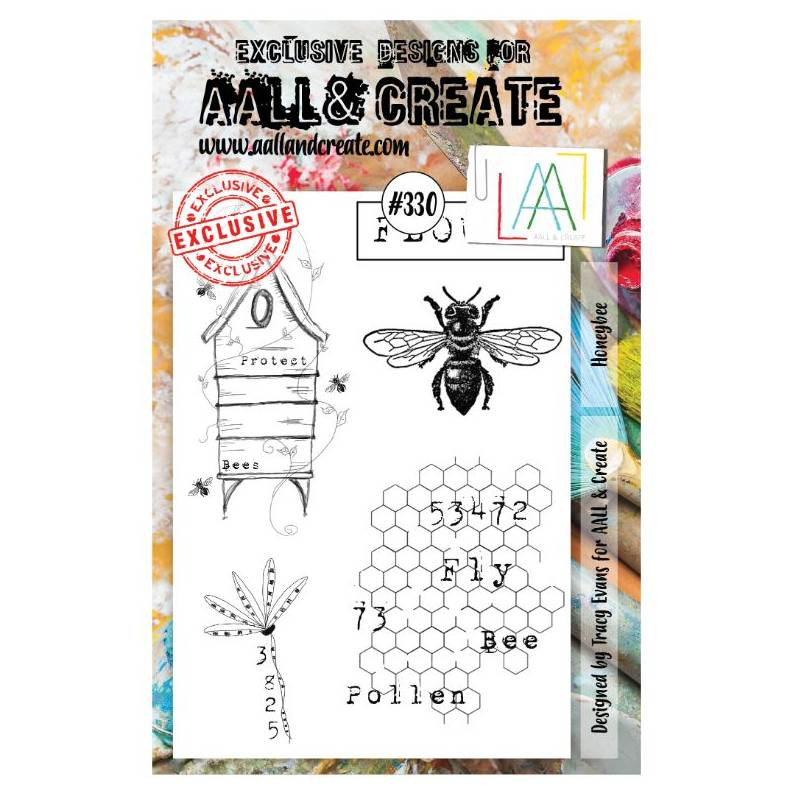 AALL & Create Stamp - 330 - Maya l'abeille