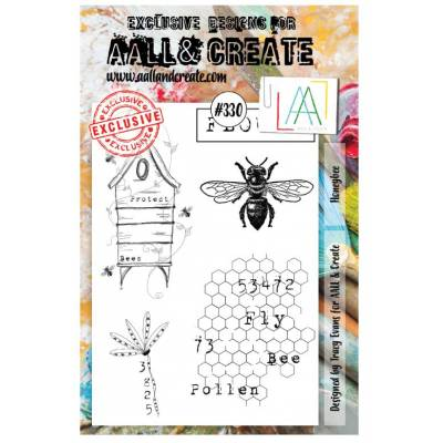 AALL & Create Stamp - 330 - Maya l'abeille