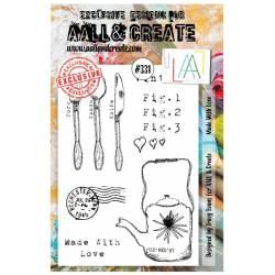 AALL & Create Stamp - 331 - le thé est servi