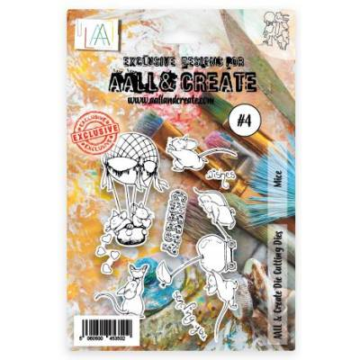 Combo Clear Die AALL& CREATE - Souris d'amour