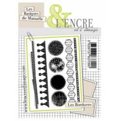 Tampons L'Encre & l'Image - Les Bordures