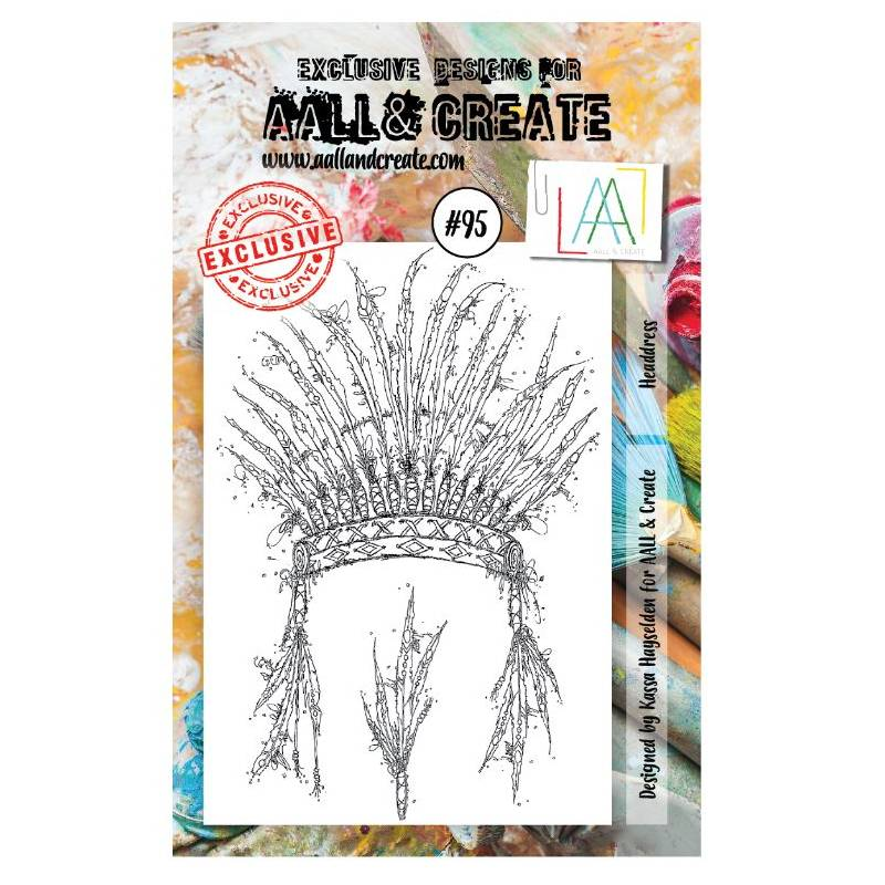 AALL & Create Stamp - 95 - Indien