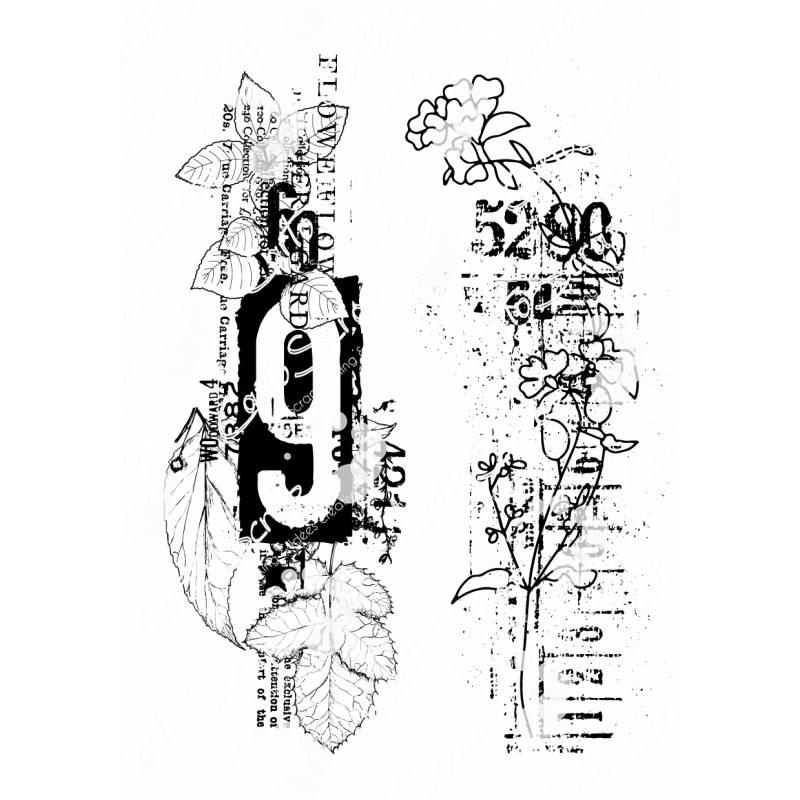 Tampons CartoScrap - Numbers