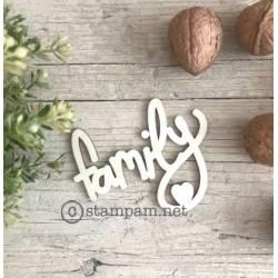 Mot en bois - Family - Stampam