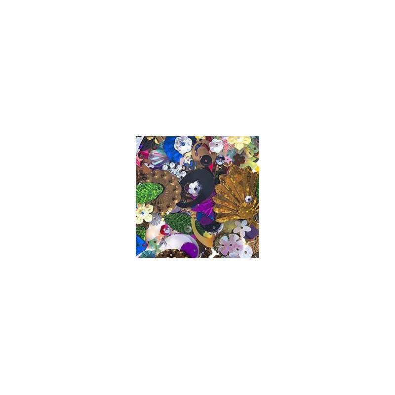 Sequins Multicolour's - Pack 200p