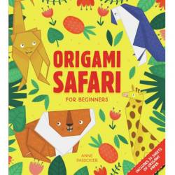 Origami débutant - animaux safari