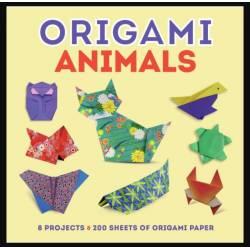 Origami débutant - Animaux de la ferme - de la mare - des champs et de la nuit