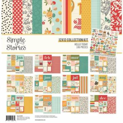 Pack 30x30 - Simple Stories - Hello Today