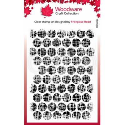 Tampons - Woodware - Bulles texturées