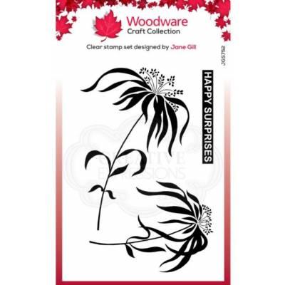 Tampons - Woodware - Fleur parapluie