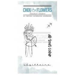 Tampons Clear - Chou & Flowers - Doudou Sagittaire
