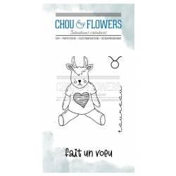 Tampons Clear - Chou & Flowers - Doudou Taureau
