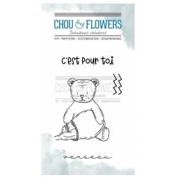 Tampons Clear - Chou & Flowers - Doudou Verseau