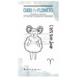 Tampons Clear - Chou & Flowers - Doudou Bélier
