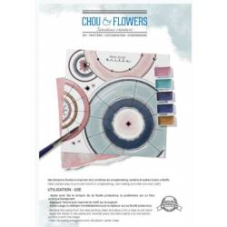 Tampons Clear - Chou & Flowers - Univers