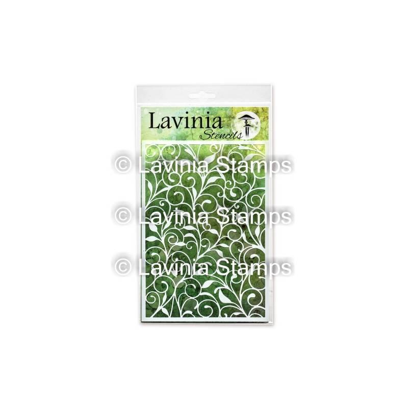 Pochoir - Lavinia - Leaf Trails