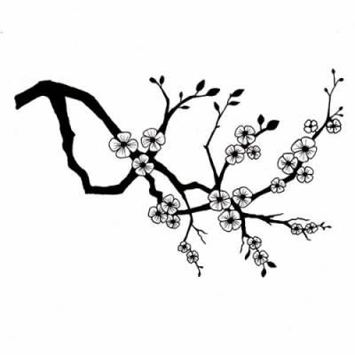 Tampon Clear - Lavinia - Cherry Blossom