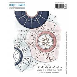 Tampons EZ - Chou & Flowers - A la belle étoile