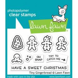 Combo Lawn Fawn - Tiny Gingerbread