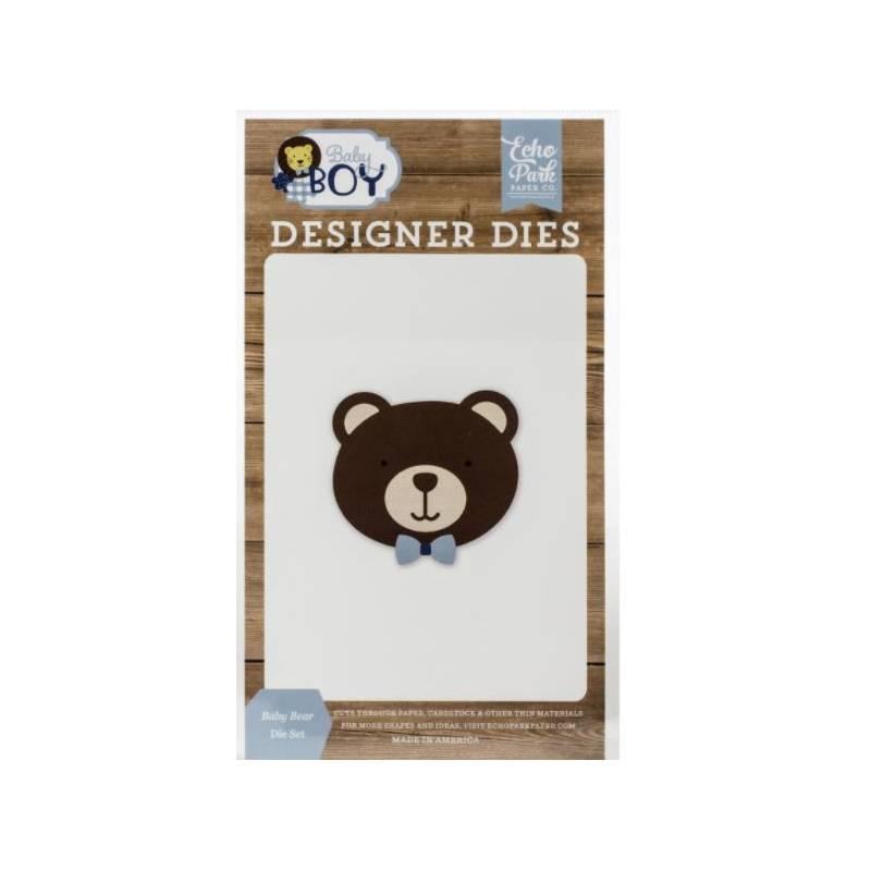 Dies - Echo Park - Baby Bear - Doudou Ours