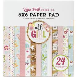 Pack Papier 15.2 x 15.2 - Echo park - All Girl