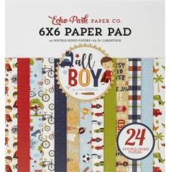 Pack Papier 15.2 x 15.2 - Echo park - All Boy