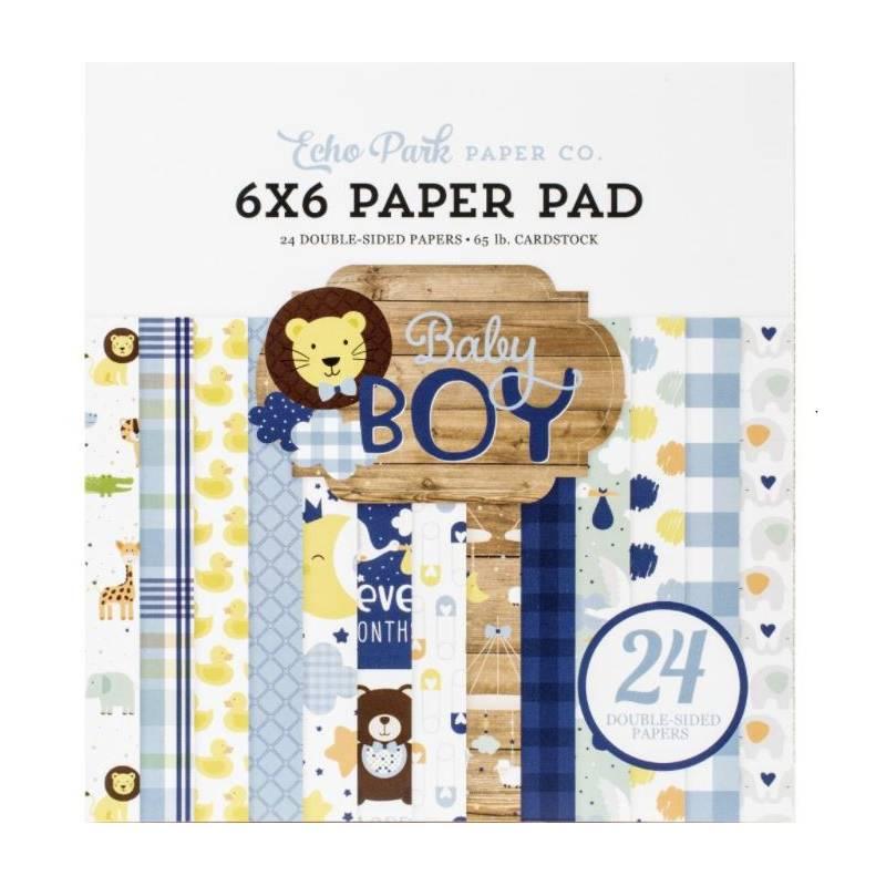 Pack Papier 15.2 x 15.2 - Echo park - Baby Boy