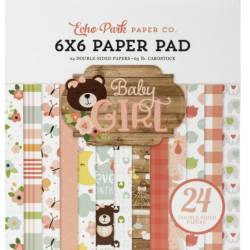 Pack Papier 15.2 x 15.2 - Echo park - Baby Girl