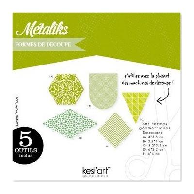 Dies MetaliKs - Formes Géométriques