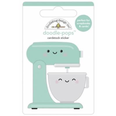 Stickers Relief- Doodlebug - Cuisine - Robot ménager