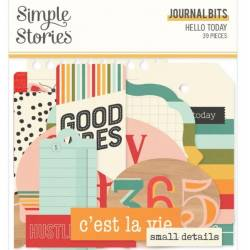 Die Cuts - Simple Stories - Journal - Hello Today