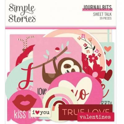 Die Cuts - Simple Stories - Journal - Sweet Talk