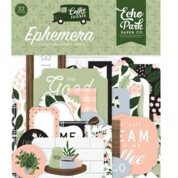 Die Cuts - Echo Park - Coffee & Friends Ephemera