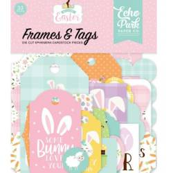 Die Cuts - Echo Park - Frames & Tags - Welcome Easter