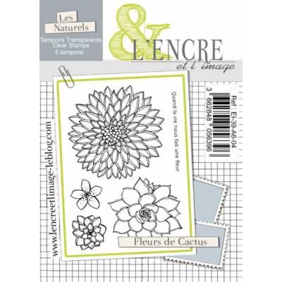 Tampons L'Encre & l'Image - Fleurs de Cactus