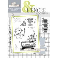Tampons L'Encre & l'Image - Courrier urgent