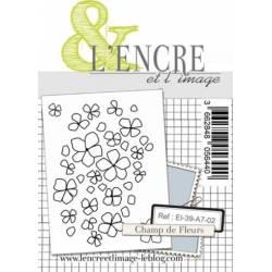 Tampons L'Encre & l'Image - Champs de fleurs