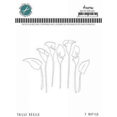 Dies - Mes Ptits Ciseaux - Arums