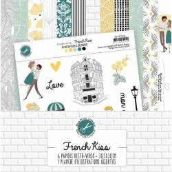 Pack Papier - Mes Ptits Ciseaux - Collection French Kiss