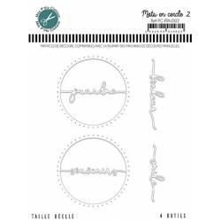 Dies - Mes Ptits Ciseaux - Mots en cercle 2