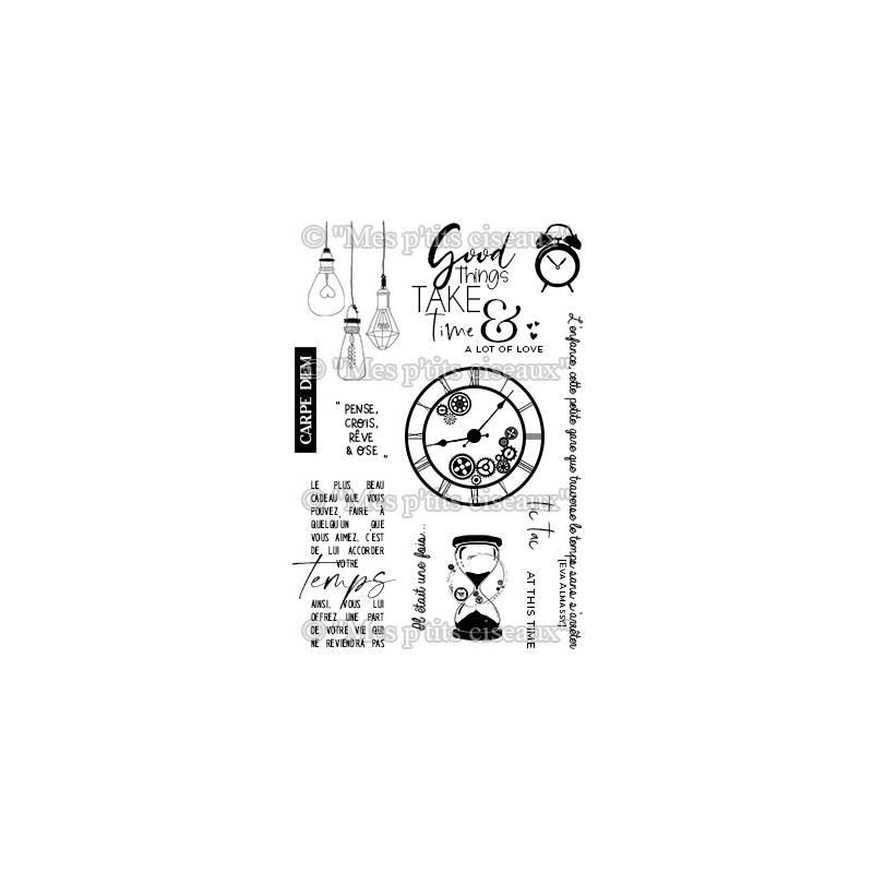 Tampons clear - Mes Ptits Ciseaux - Carpe Diem
