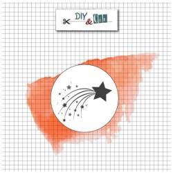 Sceau en laiton - DiY and Cie - Etoile filante