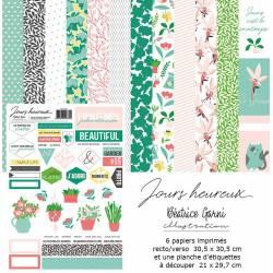 Pack 30x30 - Béatrice Garni - Jours Heureux