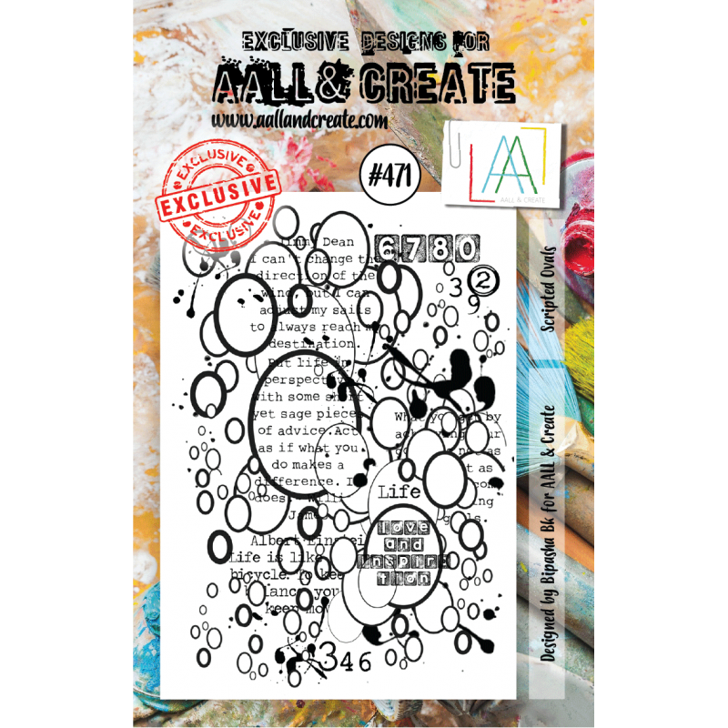 AALL & Create Stamp - 471 - Oeufs mimosa