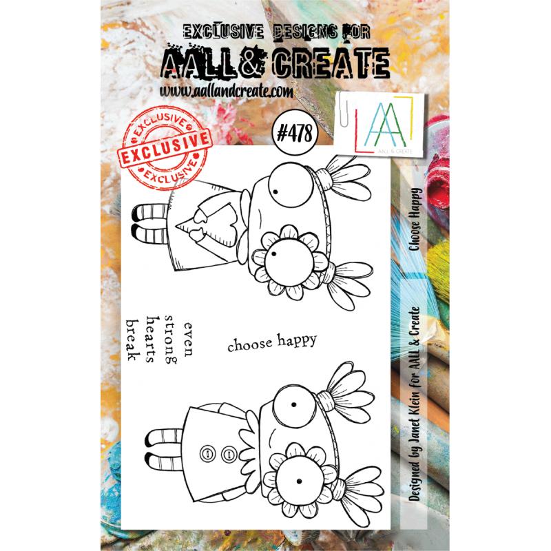 AALL & Create Stamp - 478 - Enfant sage